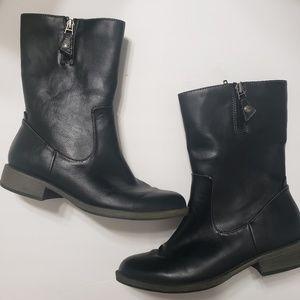 Dr scholls black boots